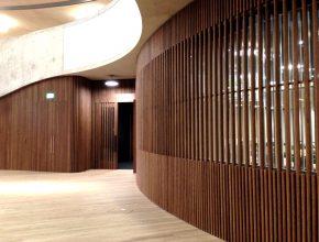 Timber Screening Walls